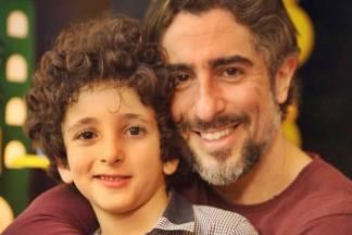 Marcos Mion com o filho/Instagram