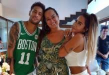 Irmã de Neymar comemora aniversário na mansão do jogador/Instagram