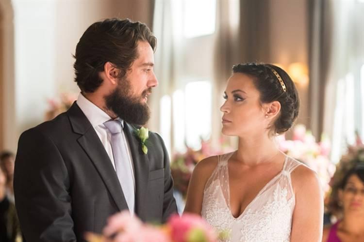 O Outro Lado do Paraiso - Casamento de Clara e Renato (Globo/Raquel Cunha)