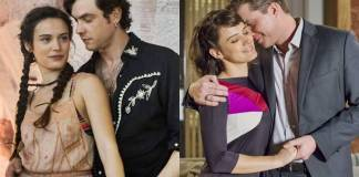O Outro Lado do Paraíso - Clara e Gael - Clara e Patrick (Raquel Cunha/Marília Cabral/Globo)