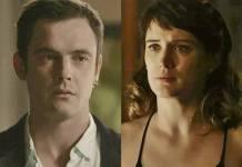 O Outro Lado do Paraiso - Gael e Clara (Reprodução/TV Globo)