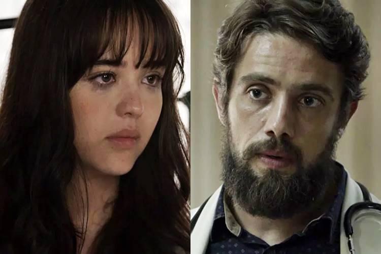 O Outro Lado do Paraiso - Laura e Renato (Reprodução/TV Globo)