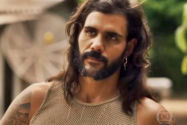 O Outro Lado do Paraíso: Mariano exige que Caetana lhe conte verdades sobre Sophia (Reprodução/TV Globo)