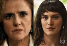 O Outro Lado do Paraíso: Clara ameaça Sophia (Reprodução/TV Globo)
