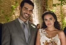O Outro Lado do Paraiso - Xodó e Cleo se casam (Globo/César Alves)