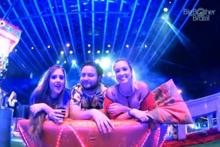 BBB18 - Patrícia, Diego e Jéssica - Reprodução/Gshow