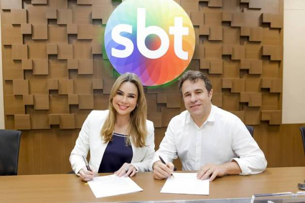 Rachel Sheherazade renova contrato com o SBT (Gabriel Cardoso/SBT)