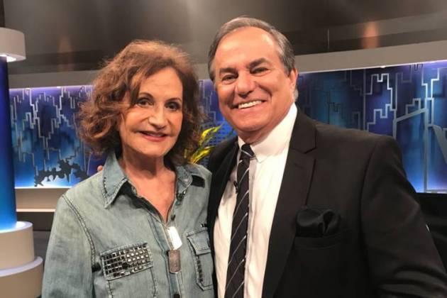 """""""Não consigo dar uma boa entrevista"""", diz Rosamaria Murtinho sobre Faustão/Divulgação"""