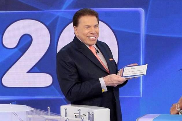 """""""Você me chamou de velho idiota"""", diz Silvio Santos para Youtuber (Lourival Ribeiro/SBT)"""