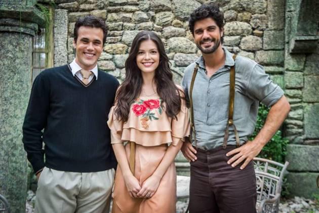 Tempo de Amar - Vicente - Maria Vitória - Inácio (Reprodução/TV Globo)