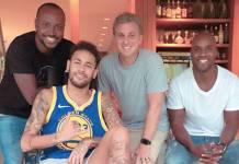 Thiaguinho - Neymar - Luciano Huck - Rafael Zulu/Instagram