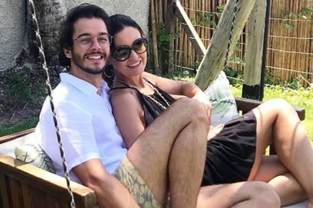 Fátima Bernardes e Túlio Gâdelha postam fotos de viagem juntos/Instagram