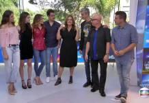 'Vídeo Show' comemora 35 anos e reúne time de apresentadores (Reprodução/TV Globo)