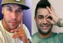 Tiago Barnabé e Evandro Santo - Montagem/Área VIP