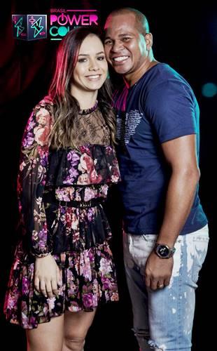 Aloisio Chulapa e Luisa Albuquerque (Edu Moraes/Record TV)