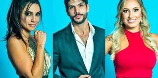 BBB18 - Paula - Lucas - Jéssica (Globo/Raquel Cunha)