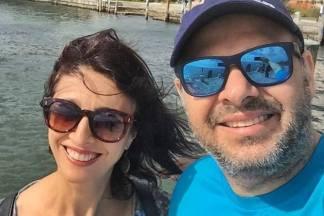 Cátia Fonseca e Rodrigo Riccó/Instagram