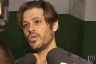 Dado Dolabella sai da prisão (Reprodução/TV Globo)