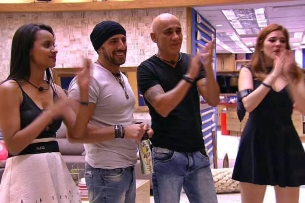 Finalistas do BBB18 (Reprodução/TV Globo)