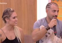 Jéssica e Kaysar - Reprodução/TV Globo