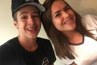 João Guilherme e Maisa - Reprodução/Instagram