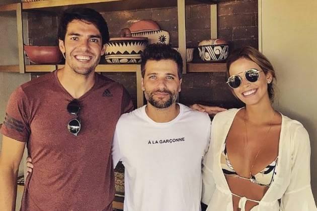 Kaká - Bruno Gagliasso - Carol Dias/Instagram