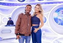 Nego do Borel e Eliana (Gabriel Cardoso/SBT)