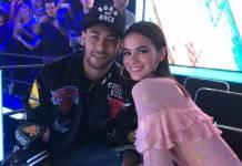 Neymar e Bruna Marquezine - Divulgação/TV Globo