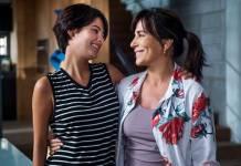 O Outro Lado do Paraiso - Adriana e Beth se reconciliam (Globo/Raquel Cunha)