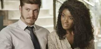 O Outro Lado do Paraiso - Bruno e Raquel (Reprodução/TV Globo)