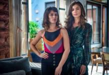 O Outro Lado do Paraíso - Clara e Lívia (Globo/Raquel Cunha)