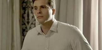O Outro Lado do Paraiso - Patrick fica surpreso (Reprodução/TV Globo)