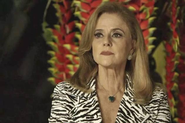 O Outro Lado do Paraíso: Sophia sofre AVC (Reprodução/TV Globo)