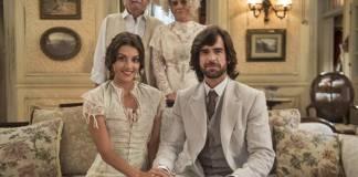 Orgulho e Paixão - Rômulo pede a mão de Cecília em casamento (Globo/Mauricio Fidalgo)