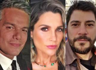 Otaviano Costa - Flávia Alessandra - Evaristo Costa/Instagram