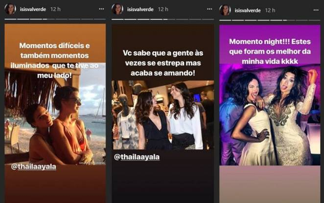 Post - Isis Valverde/Instagram