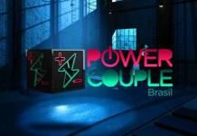 Logo Power Couple Brasil - Divulgação