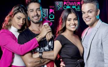 Power Couple - Franciele e Diego - Munik e Anderson (Edu Moraes/Record TV)