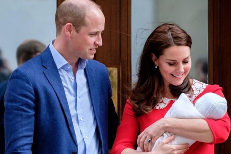 Anunciado o nome do terceiro filho de Kate Middleton e príncipe William