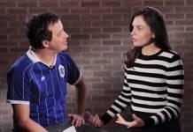 Mônica Iozzi revela que Rafael Cortez já foi seu 'crush'/Youtube