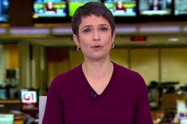 Sandra Annenberg - Reprodução/TV Globo
