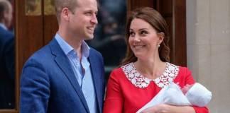 Príncipe William, Kate Middleton e o novo filho do casal - Reprodução/Instagram/kensingtonroyal