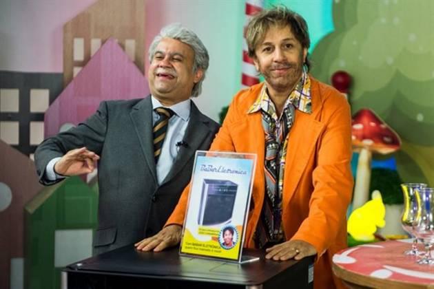 Tá no Ar - Jorge Bevilácqua ( Welder Rodrigues ) e João Canabrava ( Tom Cavalcante )/(Globo/Raquel Cunha)