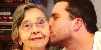 Thiago Fragoso e avó - Reprodução/Instagram