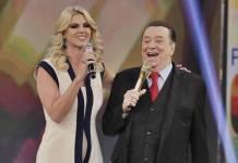 Val Marchiori alfineta famosos no 'Programa Raul Gil' (Rodrigo Belentani/SBT)