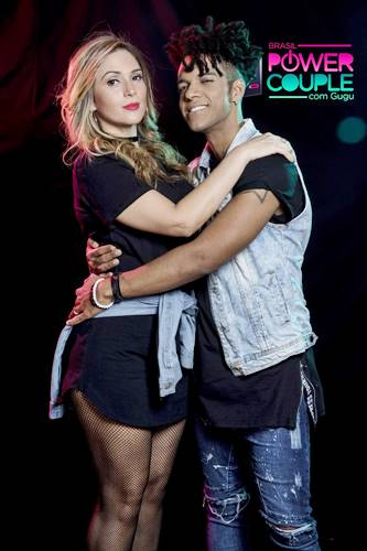 Vinicius D Balck e Nadja Pessoa (Edu Moraes/Record TV)