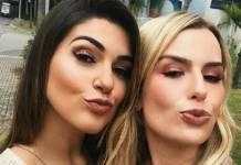 Vivian Amorim e Fernanda Keulla - Reprodução/Instagram