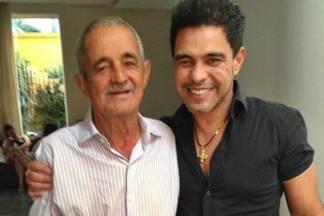 Zezé Di Camargo com o pai Seu Francisco/Instagram