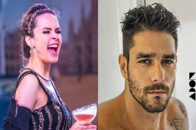 Ana Paula Renault e Diego Grossi - Montagem Área VIP