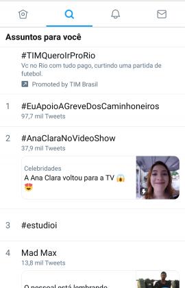 Ana Clara/Twitter